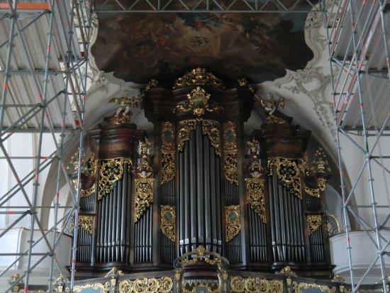 Schwyz, Schweiz: L'organo