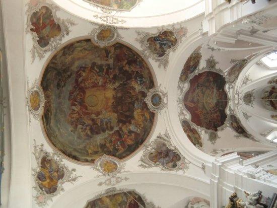 Schwyz, Schweiz: Dipinti sul soffitto