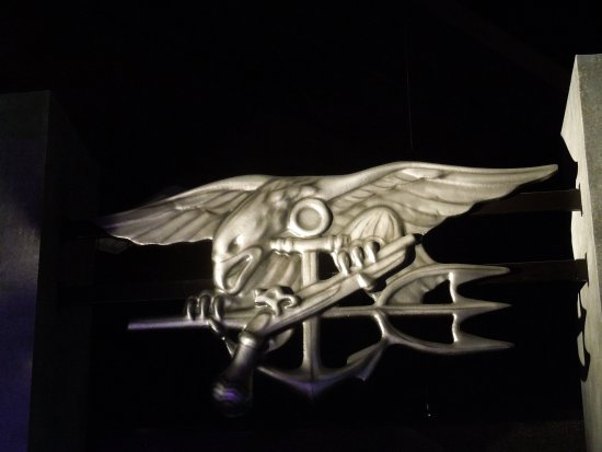 Fort Pierce, Флорида: Insignia of the Navy Seals