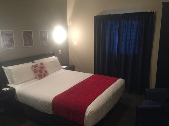 โรงแรมคอปธอร์น แกรนด์ เซ็นทรัล นิว พลีมัธ: Small yet comfortable