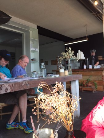 Marcoola, Australien: local diners