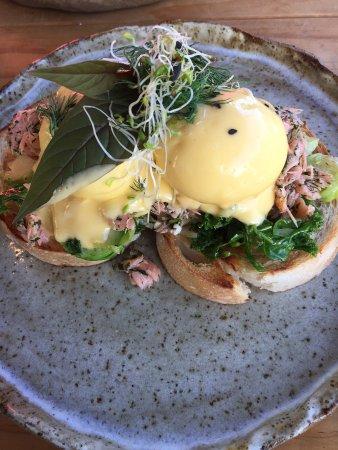Marcoola, Australia: salmon rillettes