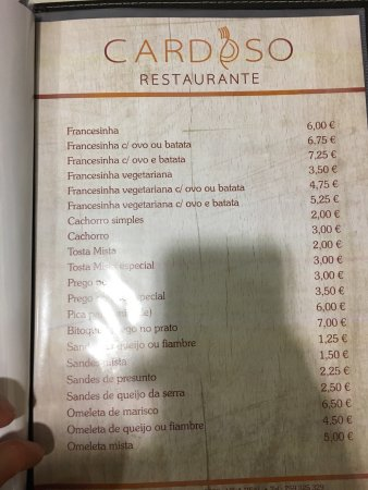 Restaurante Cardoso: Atmosphere