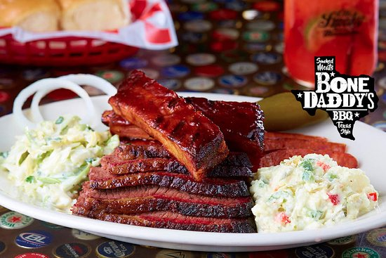Bone Daddy's : Smoked Prime Brisket, Spare Ribs and Hot Link Sausage