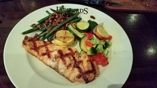 Miamisburg, OH: Wood Grilled Salmon