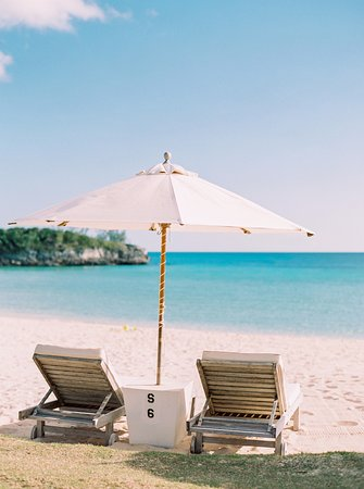 Beach Chairs at The Cove, Eleuthera