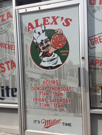 Alex's Pizza: photo1.jpg