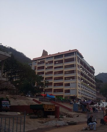 Vijayawada, India: Kanaka durga temple view from outside