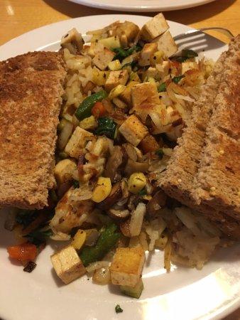 Notchtop Bakery & Cafe: Tofu Scramble