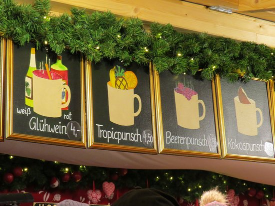 Kultur- und Weihnachtsmarkt Schloß Schönbrunn: The Gluhwein was good and you can even buy a Gluhwein mug.
