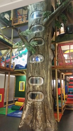 Douglas Fir Resort & Chalets: My kids just loved this place, lots to climb and swing on!