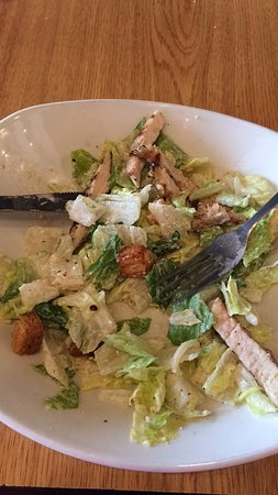 Kernersville, Carolina do Norte: Frango com salada caesar