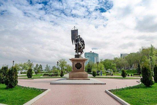Monument to Grigoriy Zasekin