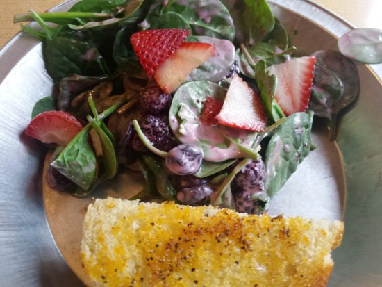 McCall, ID: Berry Spinach salad!
