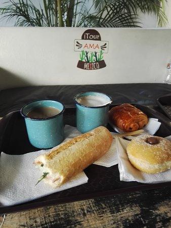 Itour Mexico: Quarto Frida Kalo e café delicia !!