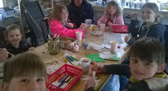 Dwyran, UK: Drop-in Egg Candle Painting Workshop