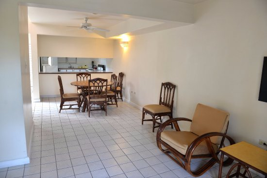 El Greco Resort: Living room/ dining room