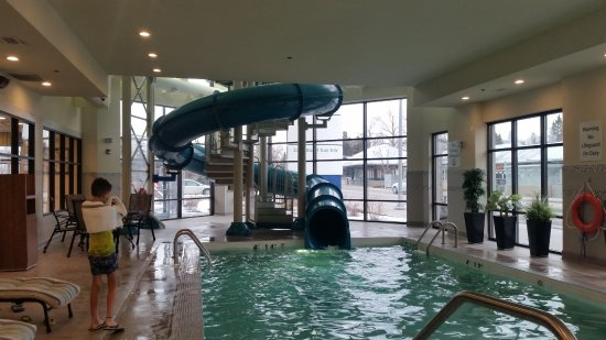 Holiday Inn Express Hotel Suites Calgary Nw Banff Trail Great Pool And Slide