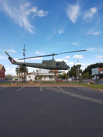 Nyngan, Australië: The memorial