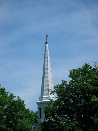 New Hartford Presbyterian Church: Steeple