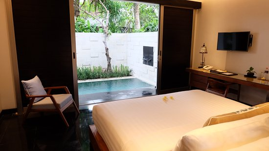 Sun Island Boutique Villas & Spa : Master Bedroom in Two-Bedroom Pool Villa