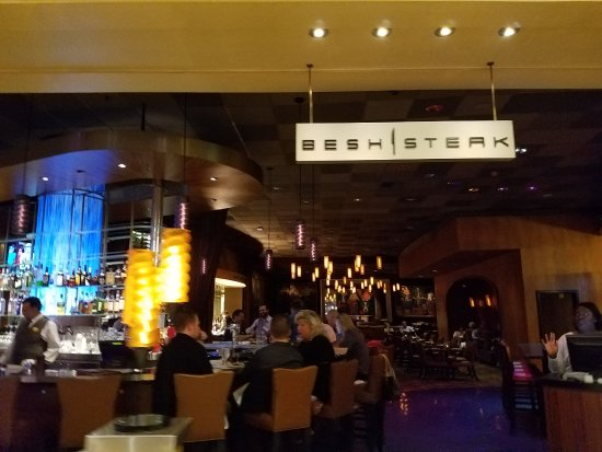 Besh Steakhouse at Harrah's : the place