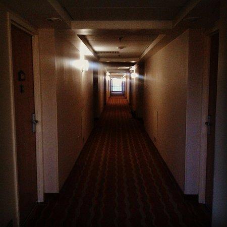 Holiday Inn Express Galerias San Jeronimo: Uno de los pasillos desde la salida de mi habitación