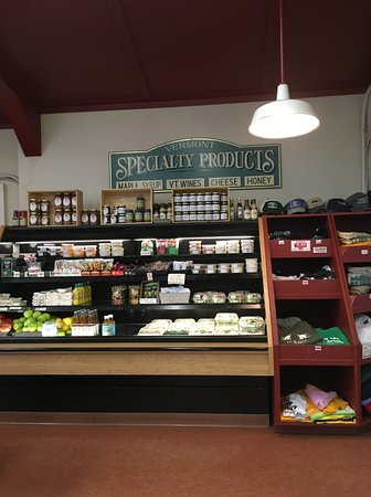 Westminster, VT: Specialty Vermont made products at Allen Bro's.