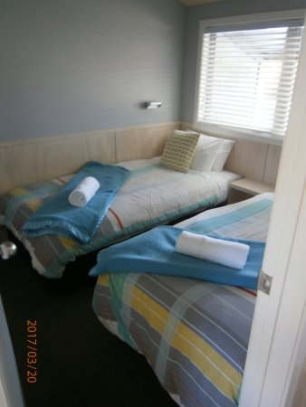 Hanmer Springs Top 10 Holiday Park: Separate bedroom