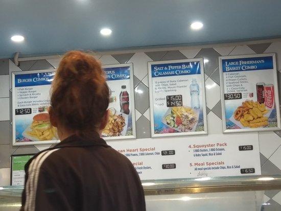 Brighton le Sands, Australia: Ocean Heart Seafood