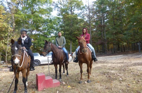 Georgia Horseback Ride with Wine Tasting