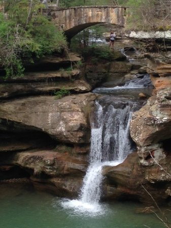 Logan, OH: Do not miss Upper Falls on the other side.
