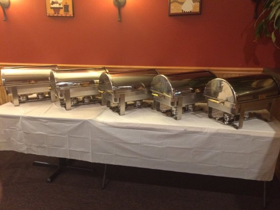 Pizzaro's Pizzeria & Italian: Buffet for catering