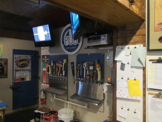 Whitehall, MI: Beers on Tap