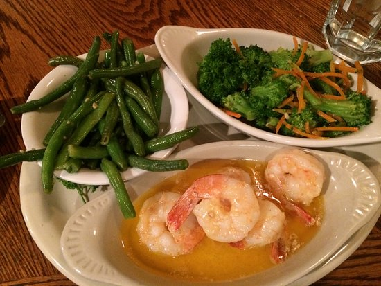 Show Low, AZ: Grilled Shrimp and Vegetables (in Butter)