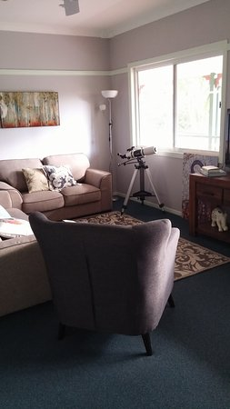 Eumundi, Australia: The guest Lounge room