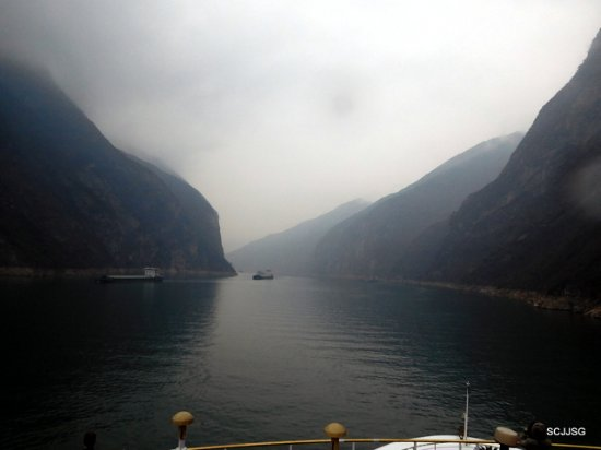 Yichang, จีน: Cruising Three Gorges
