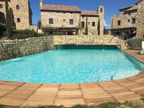 Sant'Angelo in Colle, İtalya: Castel brunello breakfast brunch vino relax