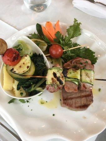 Mali Ston, Kroatien: Tuna steak