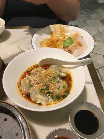 Yum Cha Tsim Sha Tsui: spicy pork dumpling