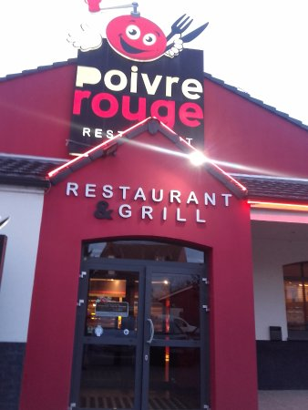 l 39 entr e du restaurant picture of poivre rouge noyelles godault tripadvisor. Black Bedroom Furniture Sets. Home Design Ideas