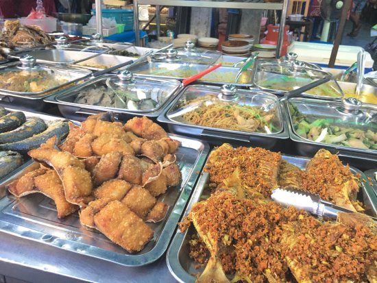Surat Thani, Tajlandia: Bewildering array of local specialities