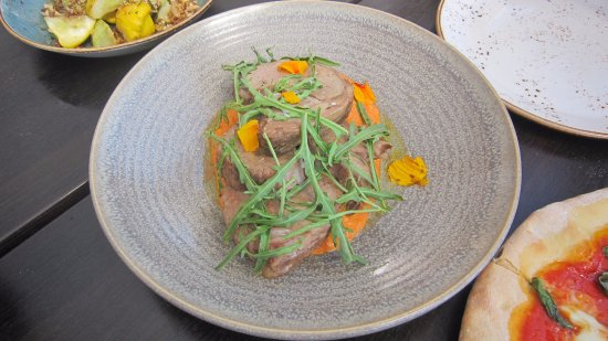Red Hill, Australia: slow cooked milk fed beef