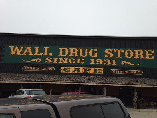 Wall, Dakota del Sud: Front of Building