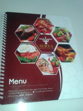 Aluva, Indien: surya restaurant ..