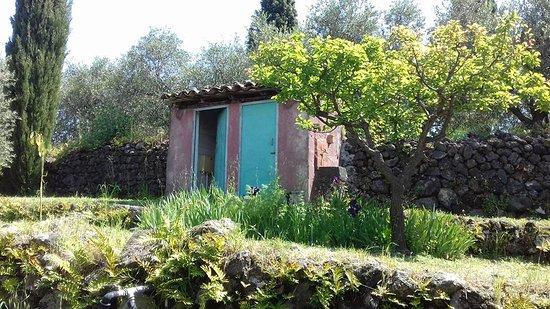 Santa Venerina, Italia: Bagno con fontanella