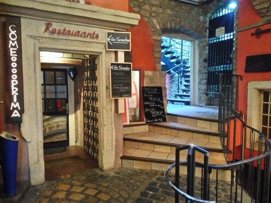 Luxembourg city rue de l 39 eau picture of am tiirmschen luxembourg city tripadvisor - Restaurant rue des bains luxembourg ...