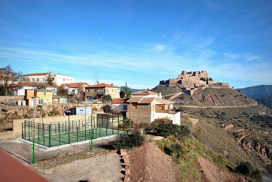 Cardona, Spanyol: Foto general del pádel.