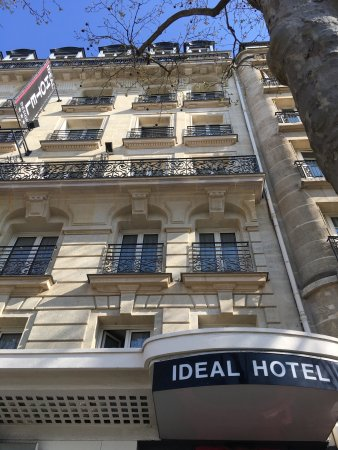 Picture of ideal hotel design paris for 108 boulevard jourdan paris