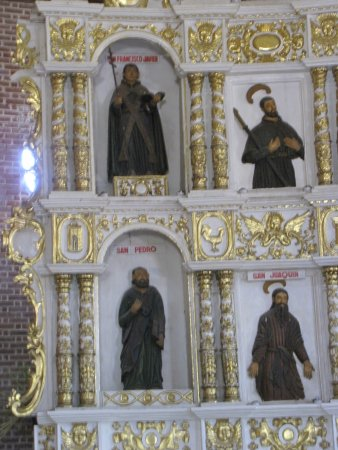 Boac Cathedral : some of the saints